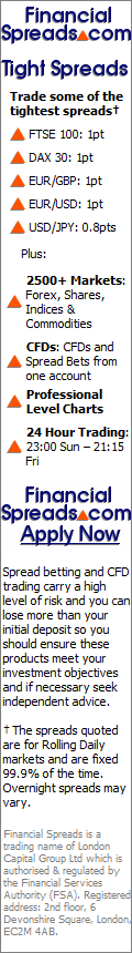 Financial Spreads: Spread Betting and CFDs