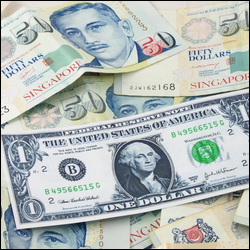 US Dollar - Singapore Dollar Spread Betting