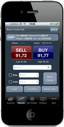 Tradefair Mobile Trading