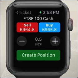 Spread Betting on a Watch